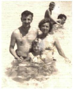 Dad, Mom, Lana (me)