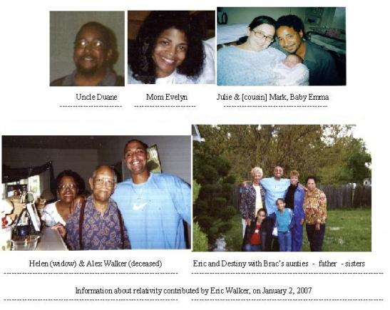 The Walker family 2007